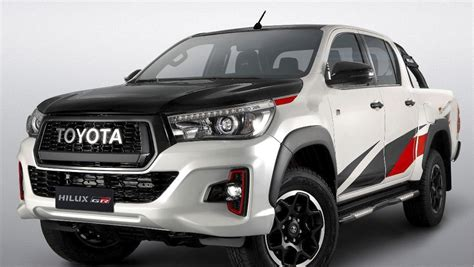 The All New Toyota Hilux Top Gear Exterior
