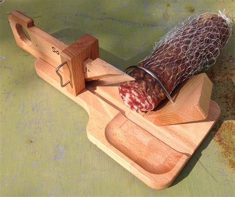 couteau de cuisine sabatier couteau guillotine à saucisson so apero droitier pour