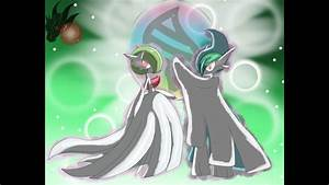 Mega Gallade v Mega Gardevoir - YouTube