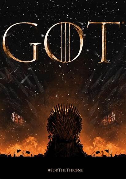 Thrones Poster Motion Behance Project Season
