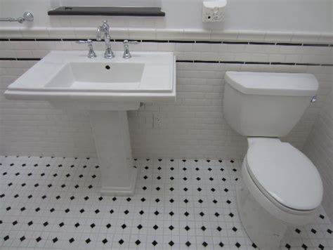 black and white bathroom tile ideas black and white subway tile bathroom ideas images