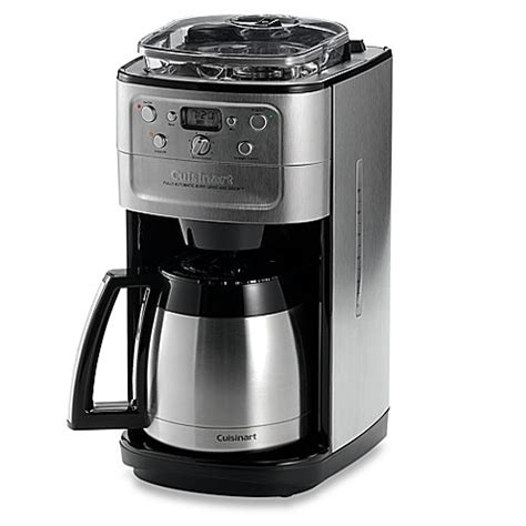 breville coffee grinder and maker cuisinart grind brew thermal 12 cup automatic coffee