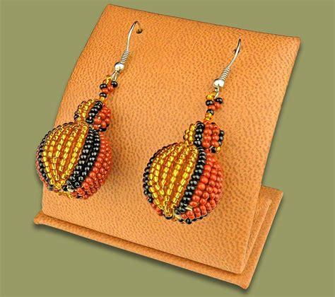 Bobble Earrings bobble earrings gold brown black