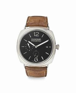 Panerai. An Oversized Limited Edition Stainless Steel ...