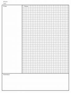 Big Box Graph Paper Templates Cornell Notes A Lyx Or Solution Needed