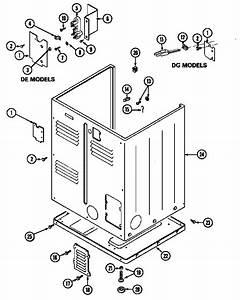 Maytag Model Lde9334ace Residential Dryer Genuine Parts
