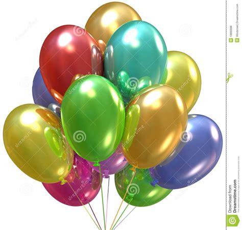 ballons d 233 coration d anniversaire et de r 233 ception photos libres de droits image 19890088