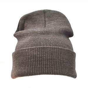 Plain Grey Beanie/Woolly/Ski/Winter Hat | eBay