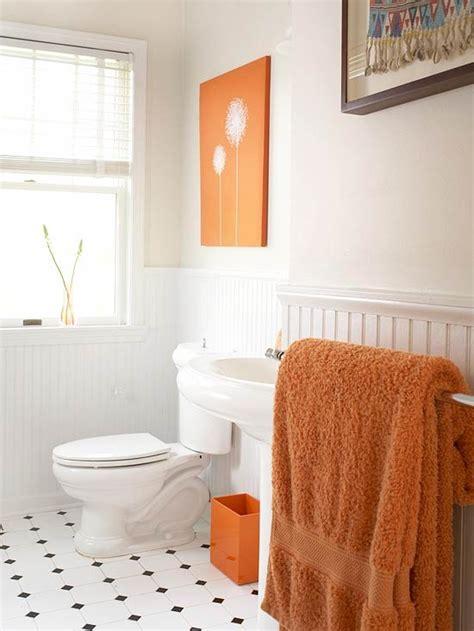 Bathroom Ideas Orange