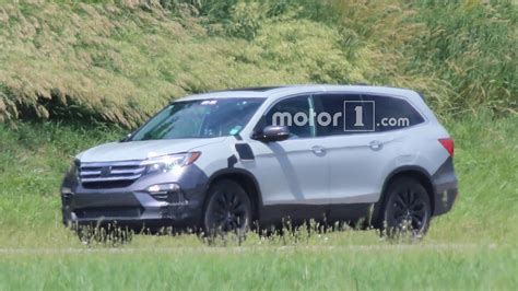 2019 Honda Pilot Phev Spied For First Time