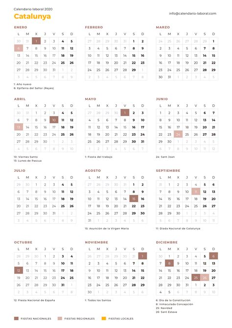 calendario laboral cataluna