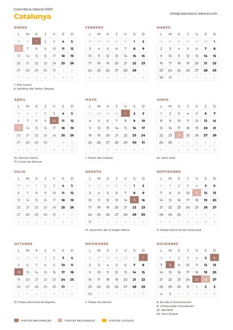 calendario laboral catalunya calendario laboral
