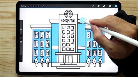 contoh mewarnai gambar rumah sakit untuk anak tk inapg id