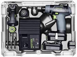 Festool CXS & TXS Compact Cordless Drill Drivers - 2 6Ah
