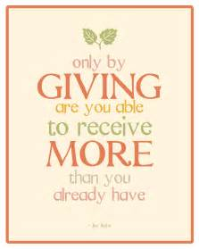 Quotes About Giving And Receiving. QuotesGram