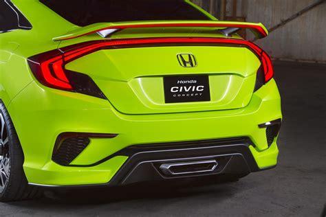 honda civic concept   stunner previews  civic
