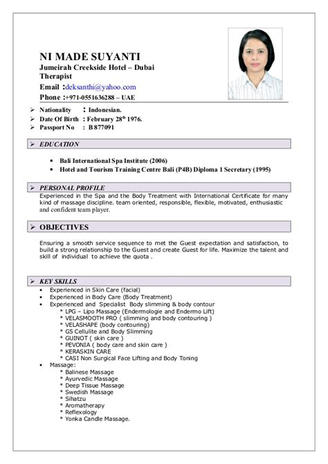 How To Do A Cv by Cv Ni Made