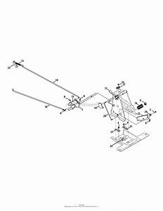 Mtd 13b226jd099  247 290000   R1000   2015  Parts Diagram For Brake Pedal Assembly