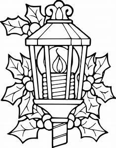Lanterne De Noel : coloriage lanterne de noel dessin imprimer sur coloriages info ~ Teatrodelosmanantiales.com Idées de Décoration