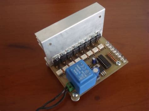 Channel Amp Triac Animation Circuit Picf