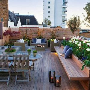 comment amenager une terrasse exterieure maison design With comment etancher une terrasse