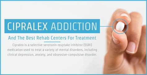 cipralex addiction side effects  treatment options
