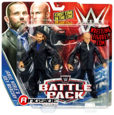 security wwe battle packs  wwe toy wrestling