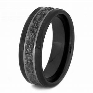 black fancy titanium rings for men oblacoder With black titanium wedding rings for men