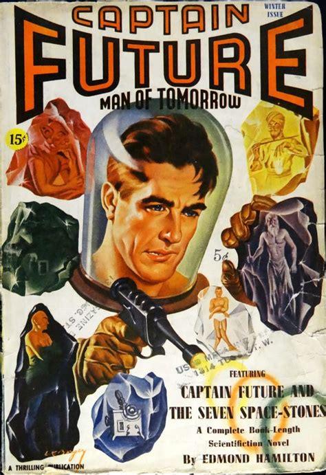 Captain Future  Pulp Covers