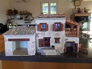 comment realiser une maison de creche de noel en placo With google voir sa maison