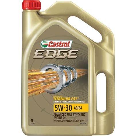 auto öl 5w30 castrol edge engine 5w 30 5 litre supercheap auto