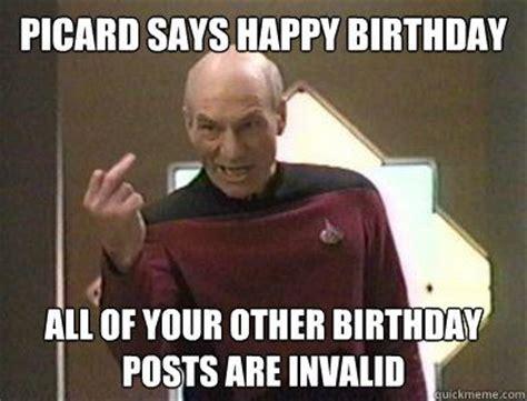 Star Trek Happy Birthday Meme - best 25 star trek birthday meme ideas on pinterest star trek happy birthday birthday pick up