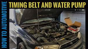 How To Replace The Timing Belt And Water Pump On A 1998