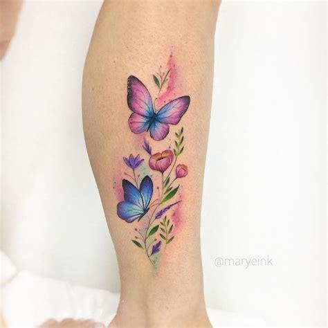 am knöchel motive tattoos schmetterlinge und blumen 25 interessante ideen f r schmetterling galerie