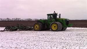 620 Hp John Deere 9620r Chisel Plowing