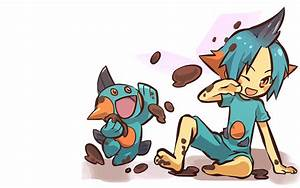 Download Pokemon Marshtomp Wallpaper 1680x1050 | Wallpoper ...