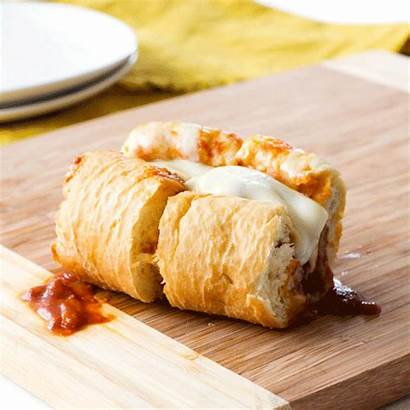 Cheese Sausage Italian Bombers Slow Cooker Oozing