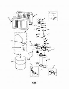 Reverse Osmosis System Diagram  U0026 Parts List For Model