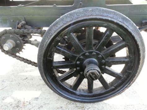 Find Used 1917 Model T Dump Truck, Chain Drive In