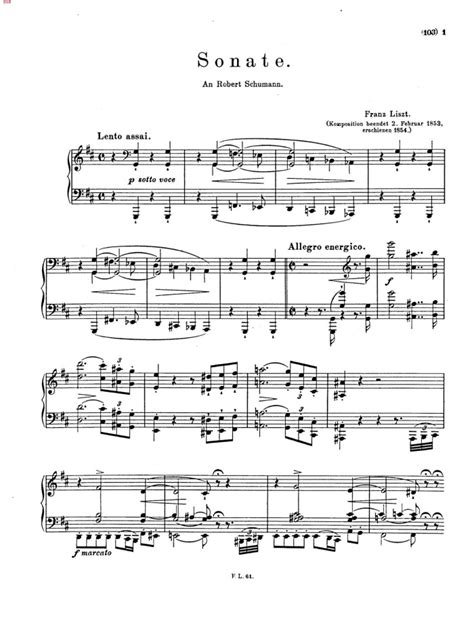 s 178 piano sonata free sheet music by liszt pianoshelf