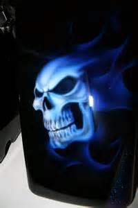 Custom Skull Motorcycle Paint Jobs