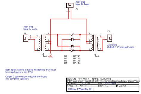 Simple Ring Modulator Under Repository Circuits