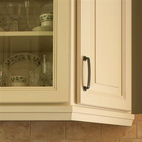 Cabinet Angled Mold by Light Rail Cabinet Molding