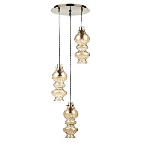 spiral pendant ceiling light rodeo rod0320 3 l spiral pendant light with chagne