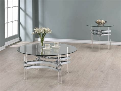 If you want to download a picture in high resolution click here. Contemporary Chrome Round Coffee Table-720708