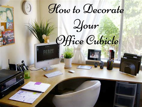 decorate  office cubicle  stand