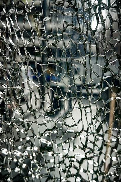 Glass Shattered Pattern Cracked Artificial Mirror