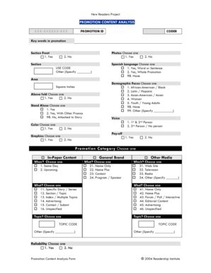 printable promotion justification form templates