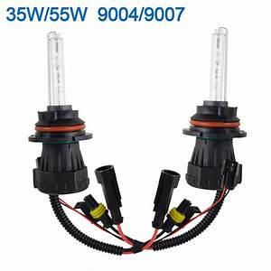 35w  55w Hid Xenon Bi Low Dual Beam Bulbs H4 H13 9003 9004 9007 9008