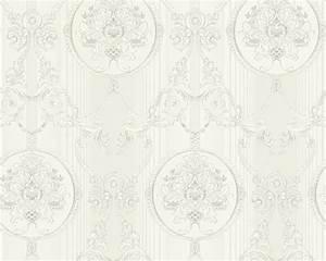 Tapete Ornamente Silber : tapete vlies ornament silber glanz hermitage 33083 3 ~ Sanjose-hotels-ca.com Haus und Dekorationen